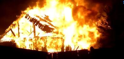 Огнеборцы ликвидировали вечерний пожар вТымовском