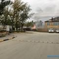 На проспекте Мира вЮжно-Сахалинске горят гаражи