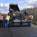 На Кунашире продолжается асфальтирование дорог