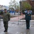 В Южно-Сахалинске появился памятник воинам-связистам