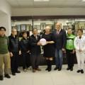 Представители Хоккайдской ассоциации мини-волейбола побывали вНевельске