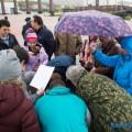 Участники митинга засохранение лосося вЮжно-Сахалинске решили выразить недоверие правительству области