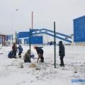 В Поронайске заканчивается строительство котельной