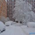 Южно-Сахалинск усиленно чистят отснега