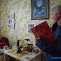 В Поронайске поздравили сюбилеем вдову участника Великой Отечественной войны Зинаиду Шустову