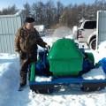 Анивчанин сконструировал исобрал изподручных материалов высокопроходимый снегоход