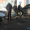 Три иномарки попали вДТП наулице Пуркаева вЮжно-Сахалинске