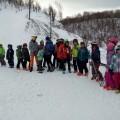 Победители открытых соревнований погорнолыжному спорту вХолмске получили армейские пайки