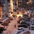 Водитель такси пострадал припадении снега скрыши дома напроспекте Мира вЮжно-Сахалинске