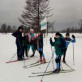 В Углегорске провели соревнования полыжным гонкам