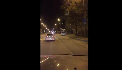 На улице Железнодорожной вЮжно-Сахалинске серьезно пострадал мотоциклист