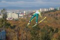 Летающие лыжники изЮжно-Сахалинска иУглегорска завершили сезон бесснежных тренировок исоревнований