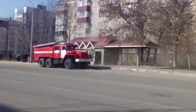 В областном центре потушили ларек наулице Сахалинской