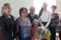 Невельчанку Зинаиду Шумилову поздравили с90-летием