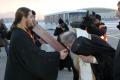 В Южно-Сахалинске встретили икону имощи Святого великомученика Георгия Победоносца