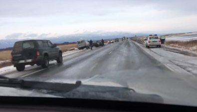 Авария стремя машинами произошла врайоне села Стародубского