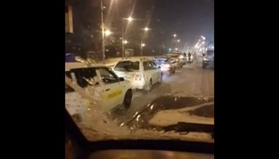 Шесть автомобилей столкнулись наулице Ленина вЮжно-Сахалинске