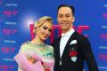 В топ-12 лучших танцевальных пармира вошли сахалинцы Евгений Мошенин иДана Спицына