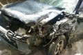 Четыре машины столкнулись врайоне городской свалки