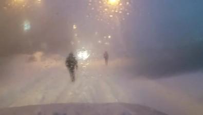 В Южно-Сахалинске из-за сильной метели введен режим ЧС
