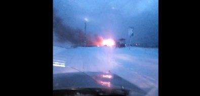 В Симаково сгорел частный дом