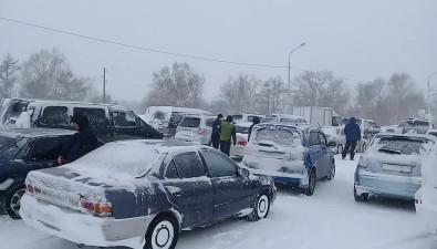 Движение подорогам Южно-Сахалинск— Долинск иМакаров— Поронайск закрыто из-за непогоды