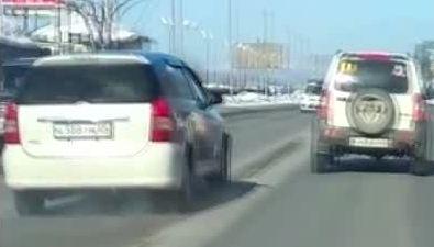 Неадекватного водителя задержала полиция накольце Ленина— Пуркаева