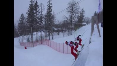"""Российские олимпийцы-фристайлеры провели первую полноценную тренировку на""""Горном воздухе"""""""