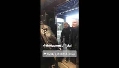 Известная финская рок-группа The Rasmus прилетела вЮжно-Сахалинск