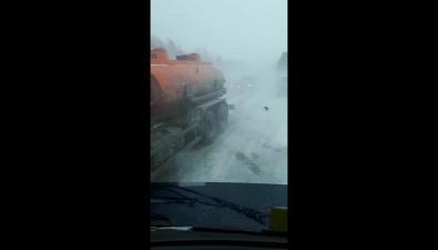 Несколько автомобилей столкнулись вСоловьевке из-за плохой видимости