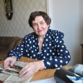 Бывший преподаватель математики холмской мореходки Екатерина Лохова отметила 80-летие