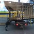 В Южно-Сахалинске недали достроить нестационарный объект торговли наулице Железнодорожной
