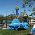 В Горячих Ключах началась реконструкция храма Георгия Победоносца