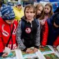 """Во время акции на""""Горном воздухе"""" вЮжно-Сахалинске детей учили спасать жизнь"""