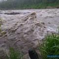 Жителей Северо-Курильска просят непокидать город из-за сильного дождя