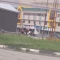 Автомобилист врезался впони напешеходном переходе вЮжно-Сахалинске искрылся сместа ДТП