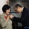 Сахалинскую преподавательницу икебаны наградили Орденом Японии