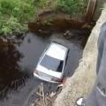 Toyota Corolla улетела вреку вАнивском районе