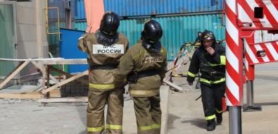 Дым безогня бывает: пожарно-тактические учения прошли вMega Palace Hotel