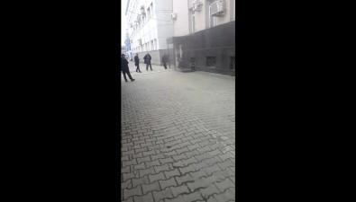 В здании главпочтамта Южно-Сахалинска произошло задымление