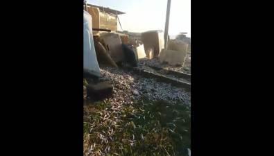 В Поронайском районе перевернулся грузовик смойвой