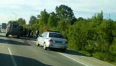 ДТП сучастием трех автомобилей произошло вХомутово
