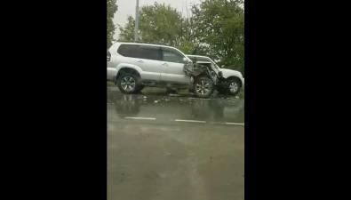 Несколько автомобилей столкнулись вСоколе