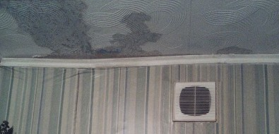 В Охеидет дождь наулице ив квартирах
