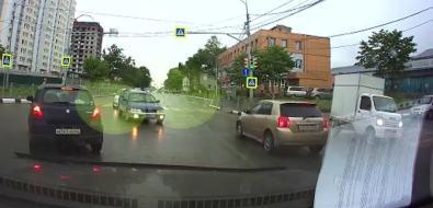 На перекрестке проспекта Мира иулицы Крайней произошло ДТП