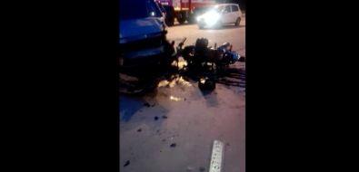 Страшное ДТПс участием мотоциклиста произошло около психиатрической больницы вЮжно-Сахалинске