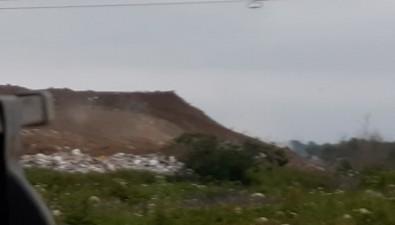 В Южно-Сахалинске дымится городская свалка