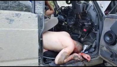 При столкновении КамАЗа сNissan Safari наюге Сахалина пострадали несколько человек