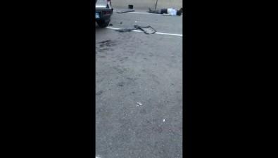 В Макаровском районе произошло страшное ДТПс участием автомобиля полиции
