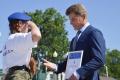 Сахалинские курсанты получили васильковые береты президентского полка